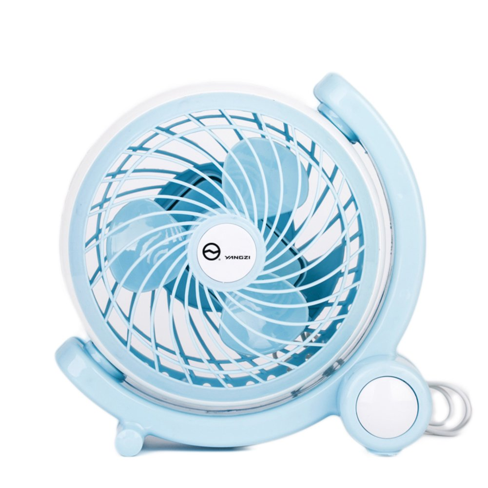 8x4x7inch DULPLAY Mini USB Table desk FAN,Personal FAN Mini handheld FAN,Student dormitory Cooling USB rechargeable Quiet operation Office home-D 20x10x18cm