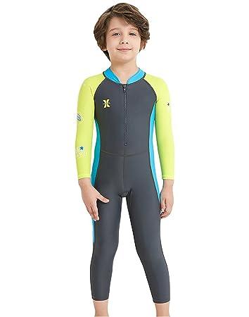a0aa44b2da65d 水着 ラッシュガード キッズ 紫外線対策 子ども スイミング 女の子 男の子 競泳用 連体 サーフィンスーツ 日焼け