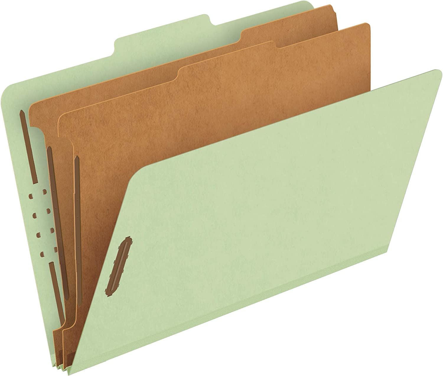 2... AmazonBasics Pressboard Classification File Folder with Fasteners