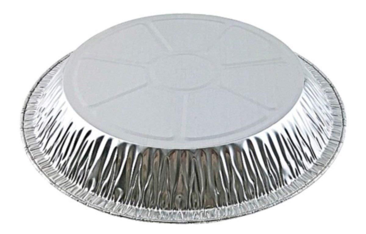 Pactogo 11 Aluminum Foil Pie Pan Extra-Deep Disposable Tin Plates Pack of 12