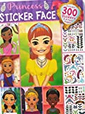 Princess Sticker Face 300 stickers and 32 face pages