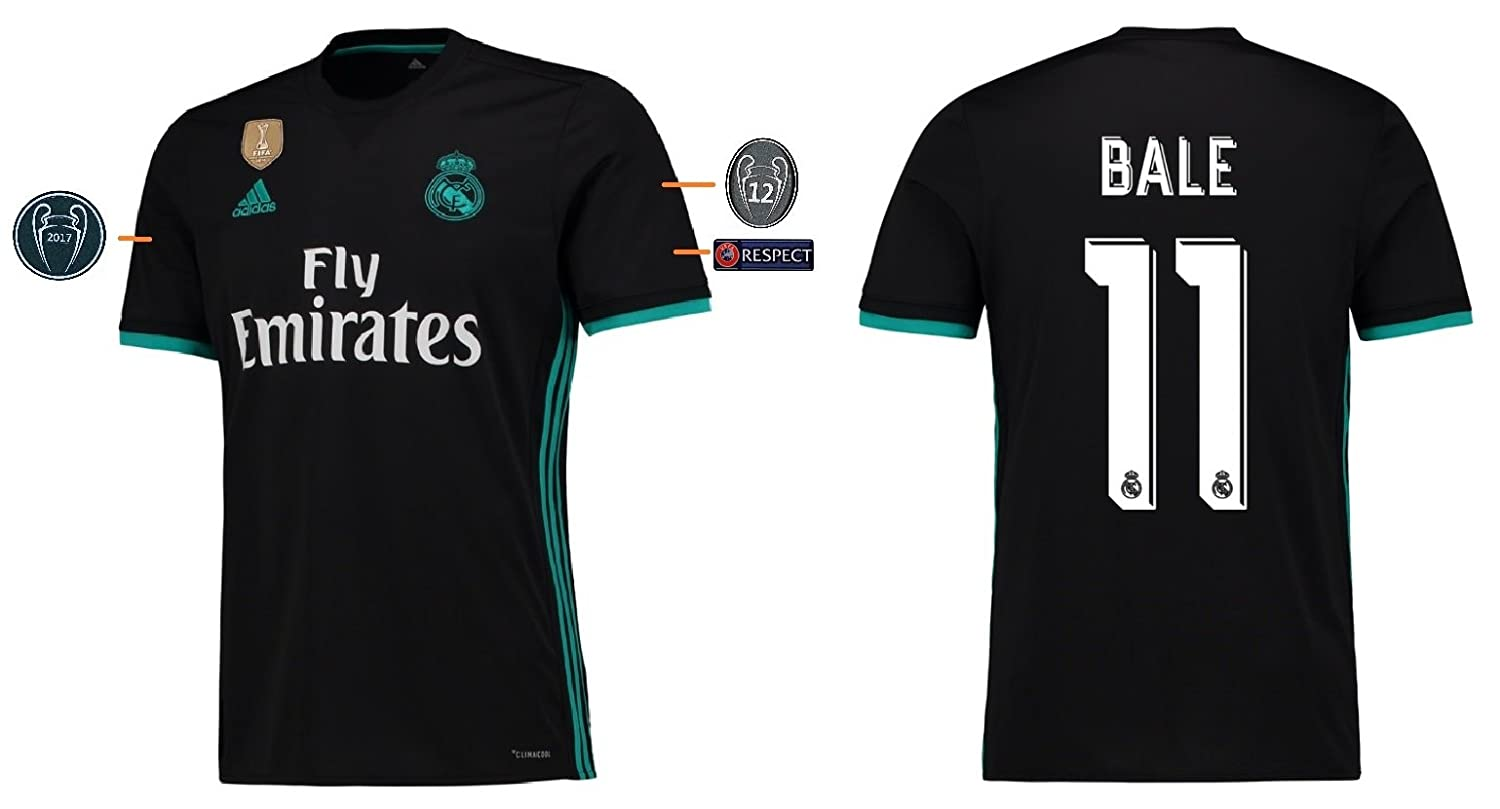 Trikot Kinder Real Madrid 2017-2018 Away UCL - Bale 11