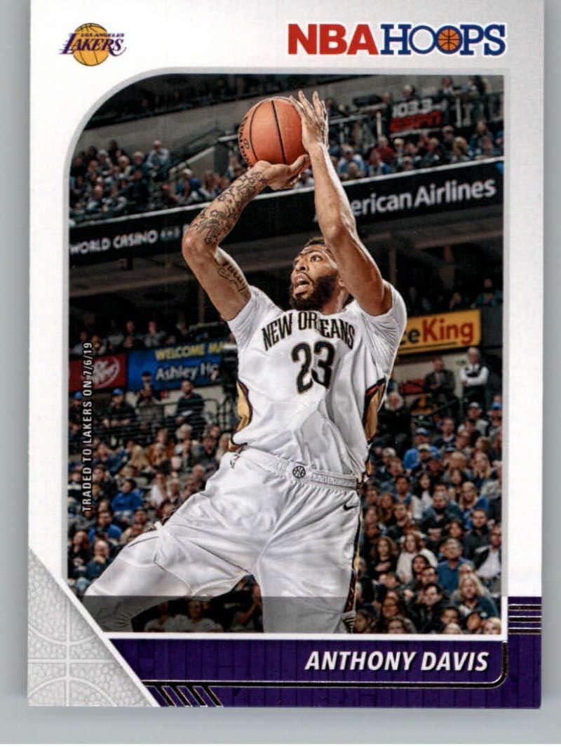 Amazon Com 2019 20 Nba Hoops Basketball 89 Anthony Davis