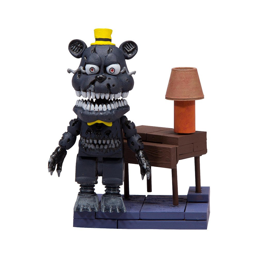 Five Nights At Freddy's Construction Set Right Hall Micro Set Neca 12666-2