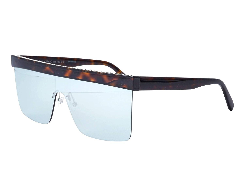 441e77f2fb Amazon.com  Stella McCartney SC0148S 004 Havana SC0148S Visor Sunglasses  Lens Category 3 Le  Stella McCartney  Clothing