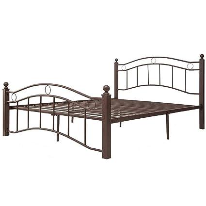 Amazon Com Metal Bed Frame Full Julyfox Modern Platform Bed With