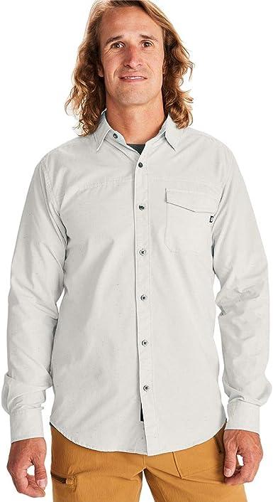 Marmot Tumalo Long Sleeve Hemd Camisa para Hombre. Hombre