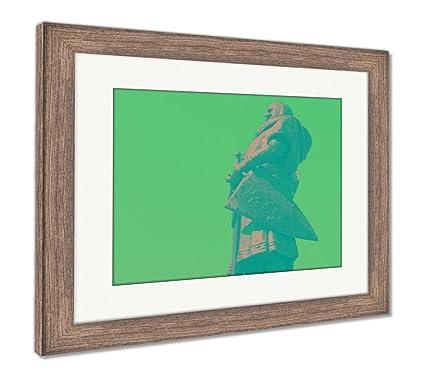 Amazon.com: Ashley Framed Prints Plaza Mayor in Valladolid ...