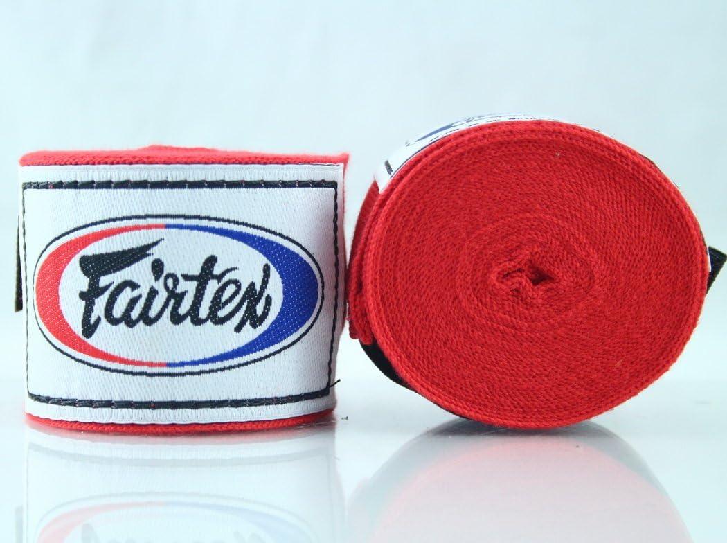 Fairtex HW2 - Vendaje elástico de algodón para manos (algodón ...
