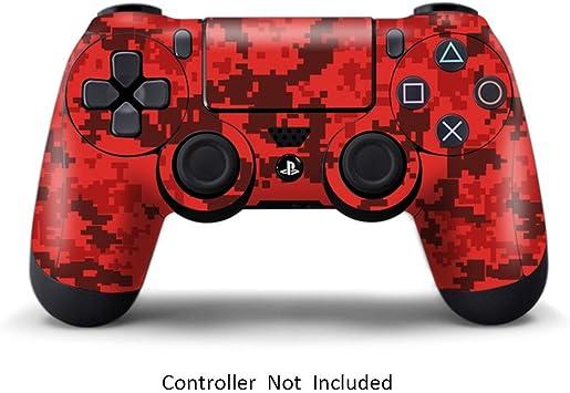 Morbuy PS4 Controller Skin Diseñador Piel Pegatina para Sony Playstation 4 PS4 Slim PS4 Pro DualShock Mando inalámbrico x 1 (Red): Amazon.es: Electrónica