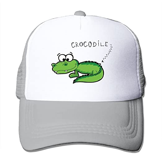 50c9477c1cd7df Image Unavailable. Image not available for. Color: Sports Baseball Caps  Cartoon Crocodile ...