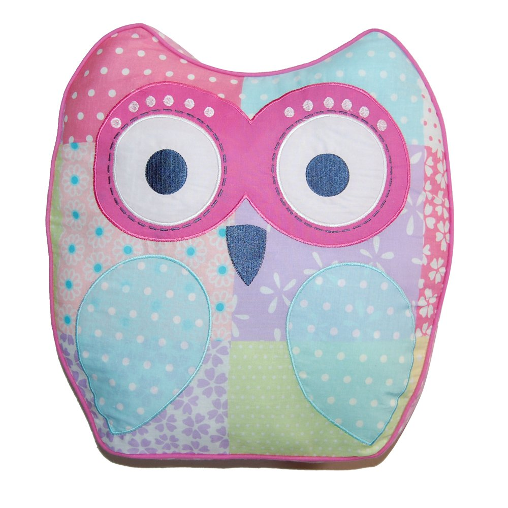 Cozy Line Home Fashions Decorative Pillow, Cute Owl by Cozy Line Home Fashions