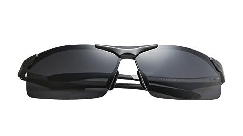 ZPFME Deporte Hombre Polarizada Gafas De Sol Con Protección UV (UV400) Peso Ligero Para Comodidad Su...