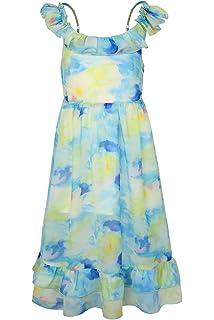 4ffc2598ab SPEINY Girls Clothing Spaghetti Straps Summer Casual Bohemian Maxi Dress