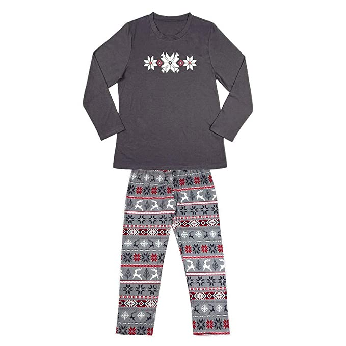 Bestow Christmas Man Daddy Snowflake Imprimir Top Pants Family Clothes Pijamas de Invierno: Amazon.es: Ropa y accesorios