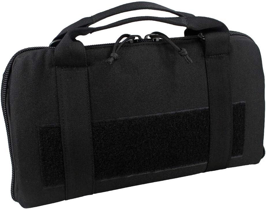 Depring Attache Pistol Case Tactical Padded Handgun Rug Shooting Range Gun Bag