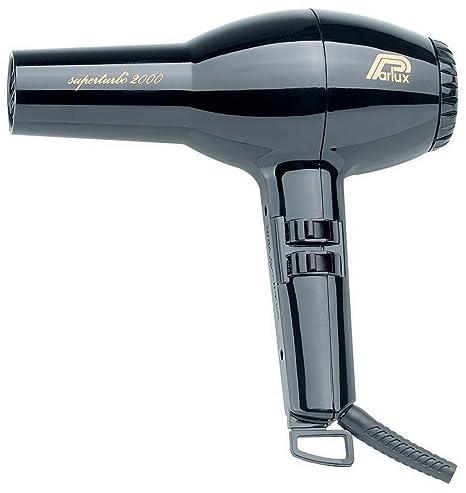 Parlux - Superturbo secador de pelo secador pelo negro 2000