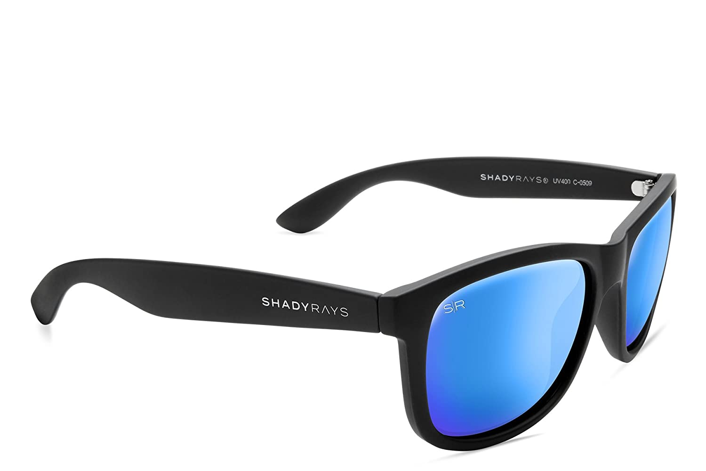 c4a8596f882 Amazon.com  Shady Rays Signature Series Polarized Sunglasses Black ...