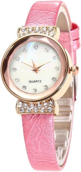 montre femme fine bracelet cuir