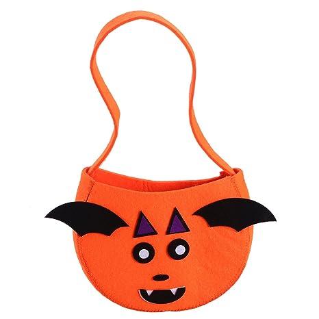 OULII Calabaza Halloween Bolsa de Regalo Bolsa para Dulces ...