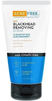 Acne-Free Blackhead Removing Exfoliating Face Scrub