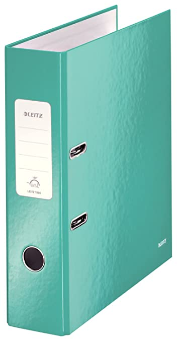 Amazon.com : Leitz Wow 10050051 Broad Lever Arch File With Slits A4 ...