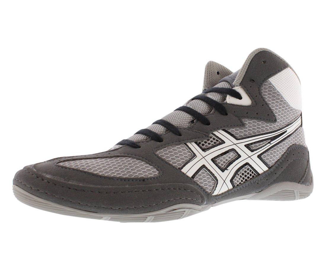 Asics Men's Matflex 4 Wrestling Shoe,Granite/White/Black,10 M US by ASICS