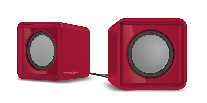 Speedlink SL-810004-RD TWOXO Stereo Speakers Rot INT-SL-810004-RD