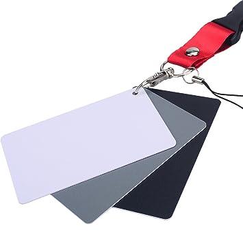 Asiv Tarjeta 3-en-1 de la Gris + Blanco + Negro. Tamaño de la Tarjeta de crédito