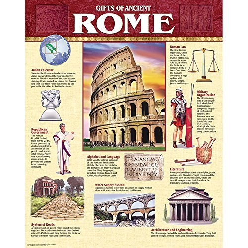 - Creative Teaching Press Gifts of Ancient Rome Chart (5559) by Creative Teaching Press