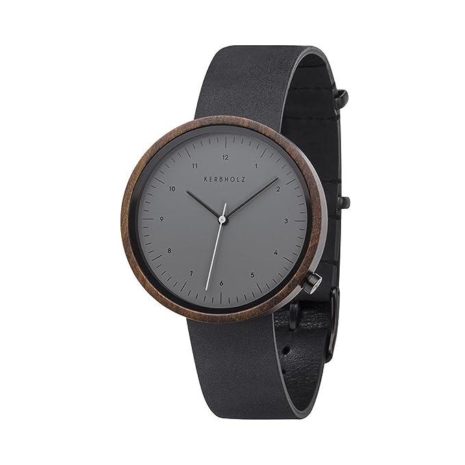 Mens Wood Wrist Watch Kerbholz