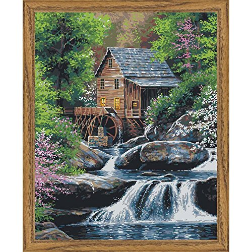 Plaid Enterprises, Inc. 17080 Paint by Number16x20SpringMill