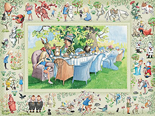 Alice's Adventures in Wonderland Jigsaw Puzzle