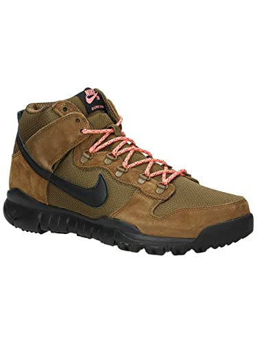 new style 57bb1 3bc16 ... official nike sb dunk high oms military brown dark khaki black mens  skate 2c632 016ed