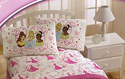 Amazon Com Disney Princess Sheet Set In Full Size Cinderella