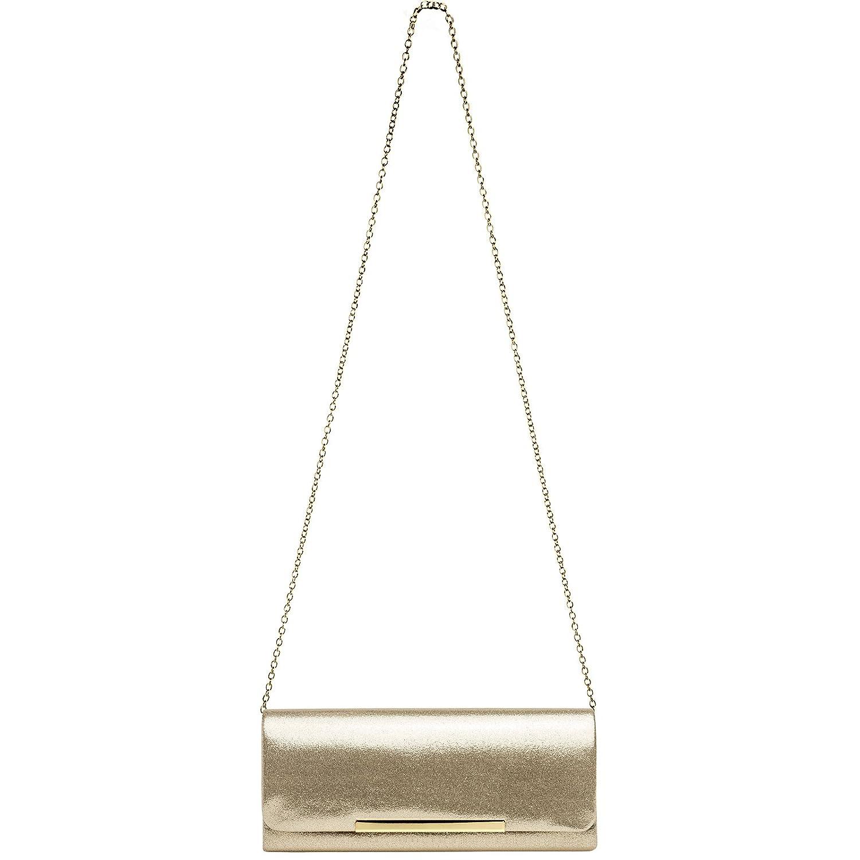 Sac /à main de soir/ée CASPAR TA346 /Él/égante pochette de soir/ée /à paillettes pour femme