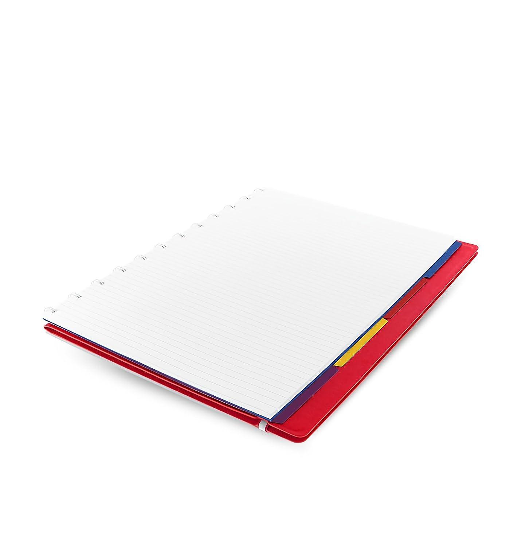 Filofax 115022 Carnet de note A4 avec feuille repositionnable Noir
