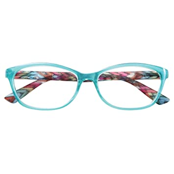 14f550143e Amazon.com  Women s Reading Glasses - Sophie Readers - Spring Hinges ...