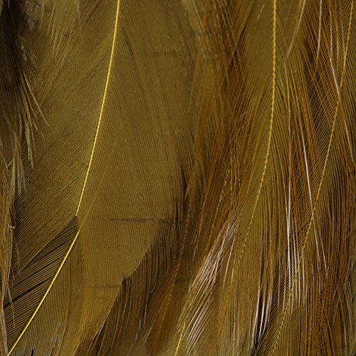Hareline Dyed Strung Chinese Saddle Hackle Olive