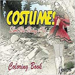 Little Red Riding Hood Coloring Costumes New Edition Coloring Book