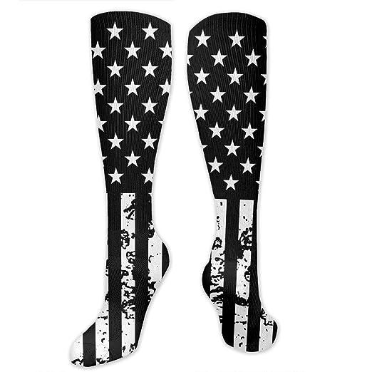 Stars And Stripes American Flag Knee High Crew Socks Knee High Stockings