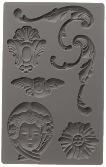Prima Marketing IOD Vintage Art Decor Moulds Object Labels 1