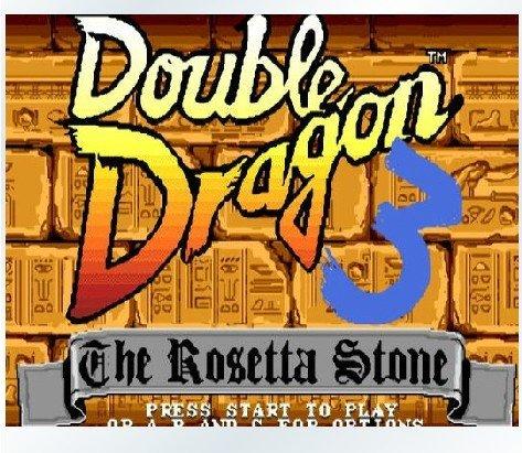 Sega Megadrive - Double Dragon 3- 16bit