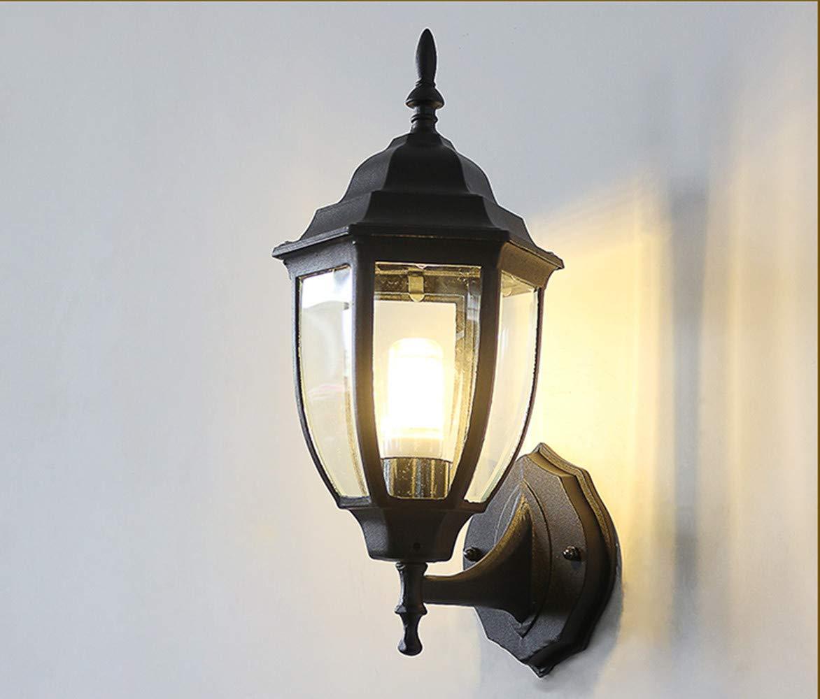 prendiamo i clienti come nostro dio Lampada Lampada Lampada da parete per esterni, a LED, impermeabile, per balconi e esterni 9  Ritorno di 10 giorni