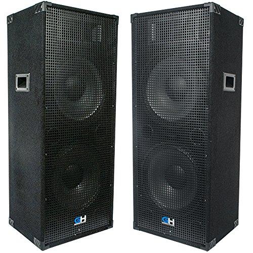 Dual 15 Inch Speaker - 9