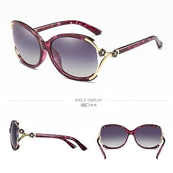 CJ Gafas de Sol Polarizadas Gafas de Sol Clásicas Grandes de Gafas de Sol de Pilotos