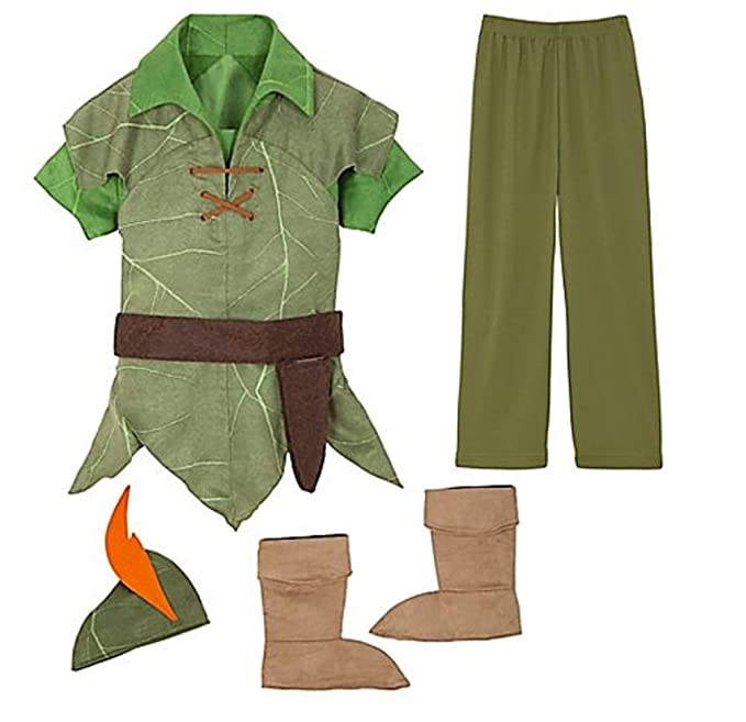 Tienda de Disney Peter Pan Disfraz Tamaño XXS [2/3] para bebé ...