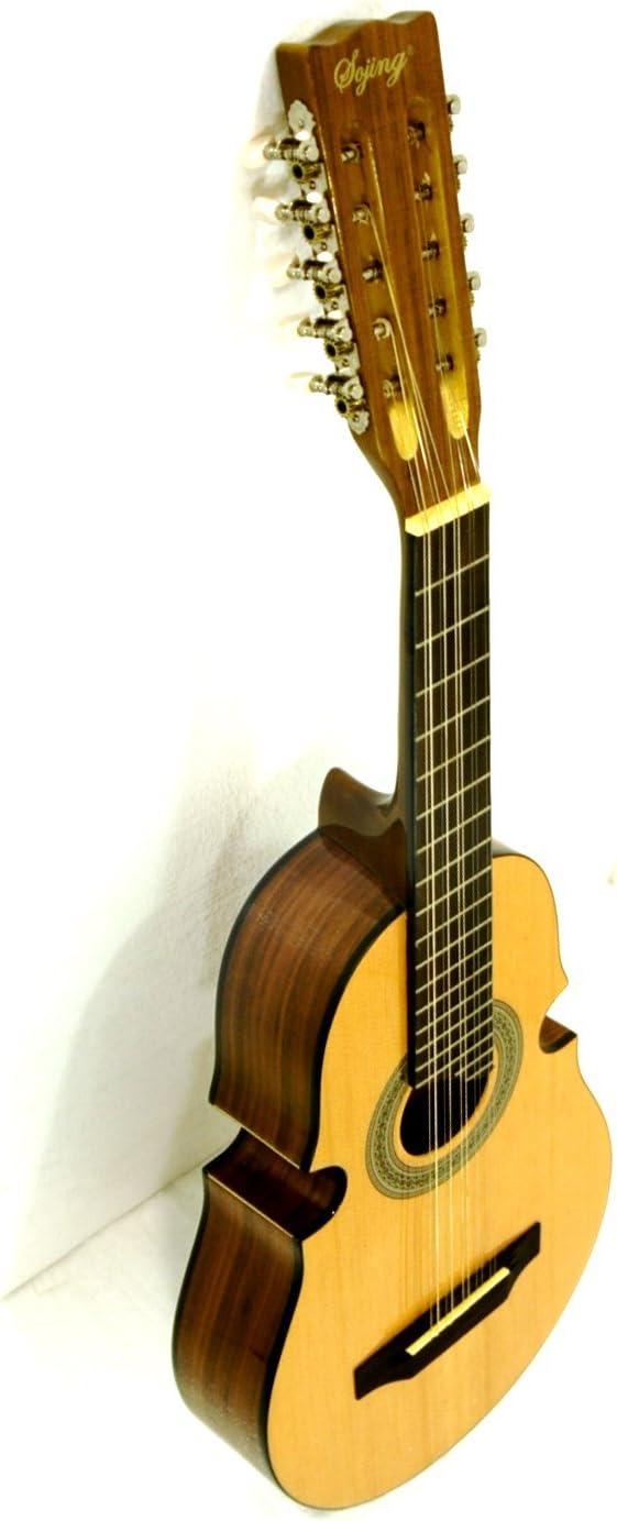 Guitarra acústica con cuerdas de 10 cuatro puertorriqueño: Amazon ...