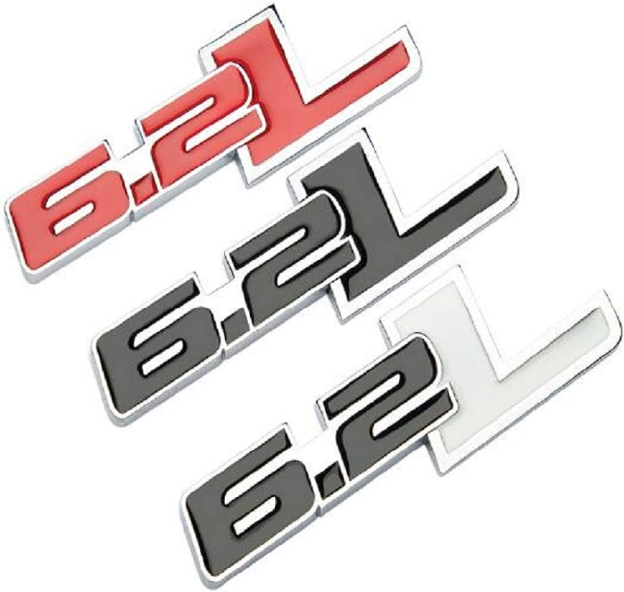 chisushangm 6.2L Metal Tailgate Boot Badge Emblem F150 Raptor Chevy GMC