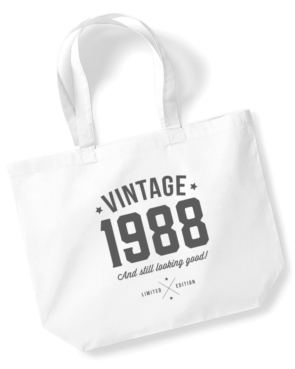 30th Birthday, 1988 Keepsake, Funny Gift, Gifts For Women, Novelty Gift, Ladies Gifts, Female Birthday Gift, Looking Good Gift, Ladies, Shopping Bag, Present, Tote Bag, Gift Idea Design Invent Print!